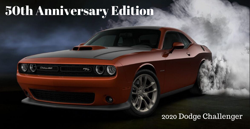 Dodge Unveils Challenger 50th Anniversary Edition
