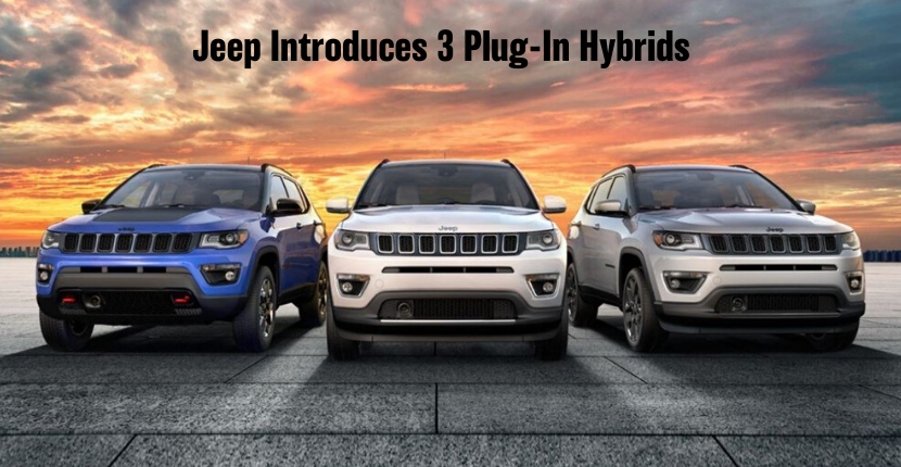 Jeep Plug-In Hybrid Models Coming Soon