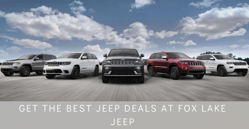 Get the best Jeep deals at Ray CDJR your Fox Lake Jeep dealer