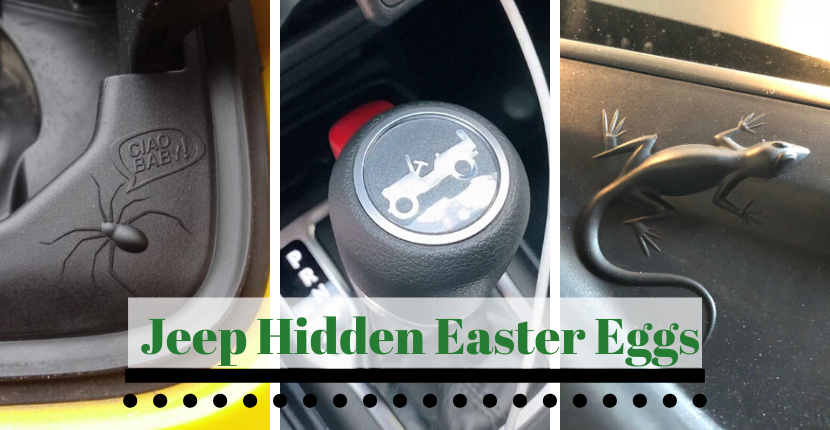 Jeep Hidden Easter Eggs