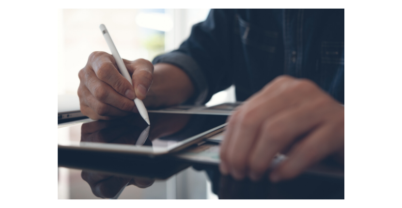 You can then review the paperwork, terms, and agreements pages and sign all documents via your smartphone, tablet or laptop.