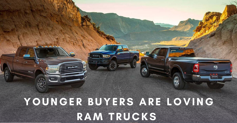 Younger Buyers Gravitate Toward Ram Trucks Over Chevy and Ford