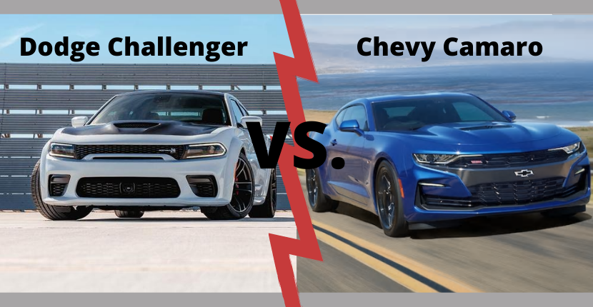 Dodge Challenger vs. Chevy Camaro