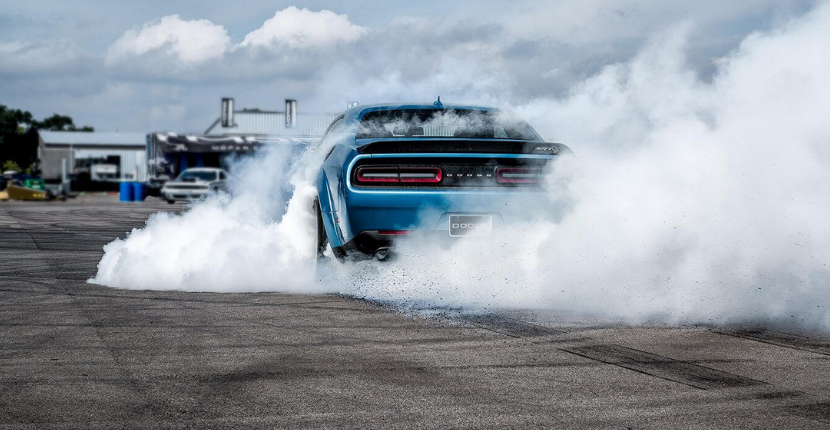 A New Dodge Challenger with a 10-Second-Quarter Mile