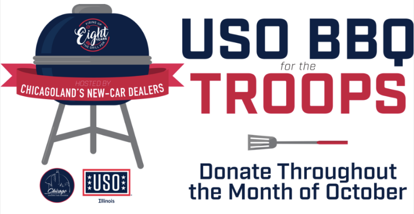 Ray Auto Group Supports USO BBQ for the Troops