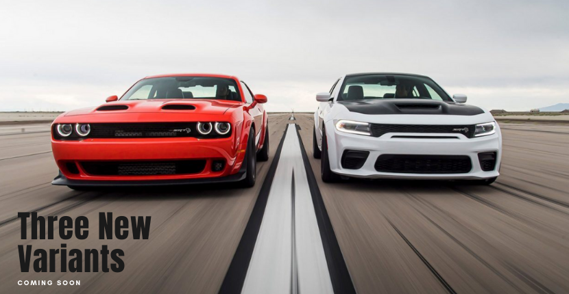 Three New Variants of Dodge Charger and Challenger Are on Their Way