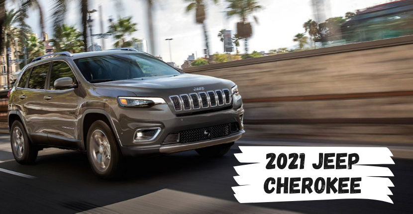 New 2021 Jeep Cherokee at Ray CDJR