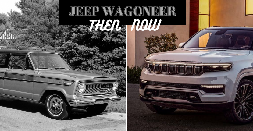 Jeep Wagoneer Then and Now