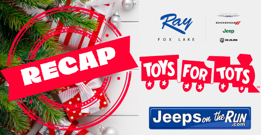 Ray CDJR Toys for Tots Recap