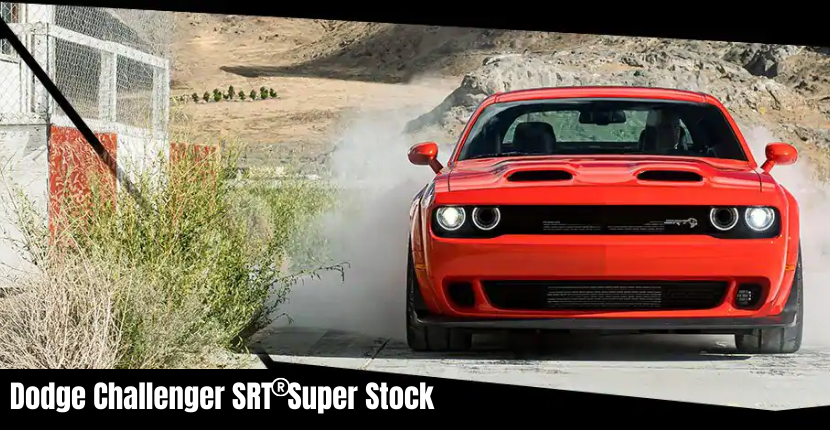 Dodge Challenger SRT Super Stock Is Fully Loaded but Comes With a Big Price