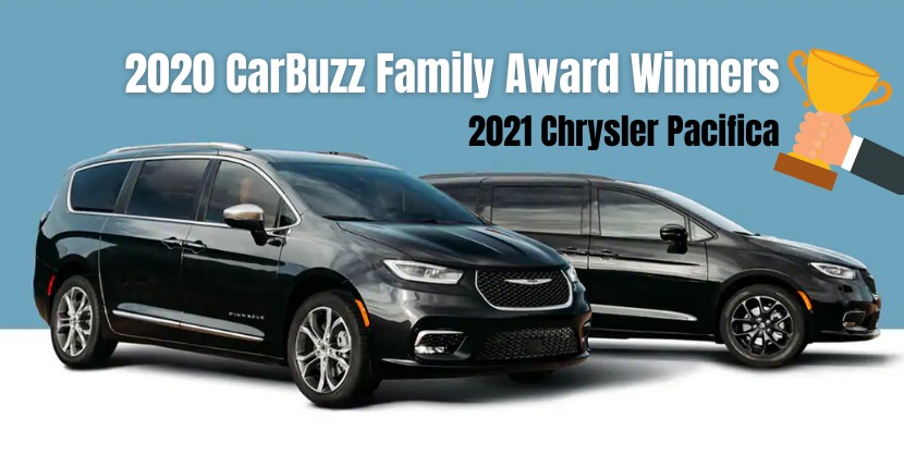 2021 Chrysler Pacifica 2020 CarBuzz Family Fun Award Winner