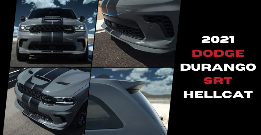 2021 Dodge Durango SRT Hellcat Sells Out