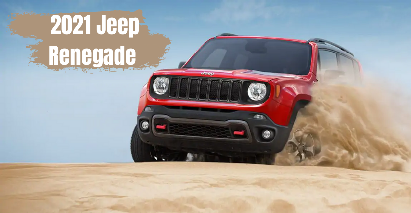 Don't Forget About the 2021 Jeep Renegade