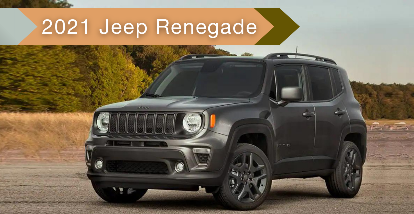 Jeep Renegade Is Perfect For Adventure