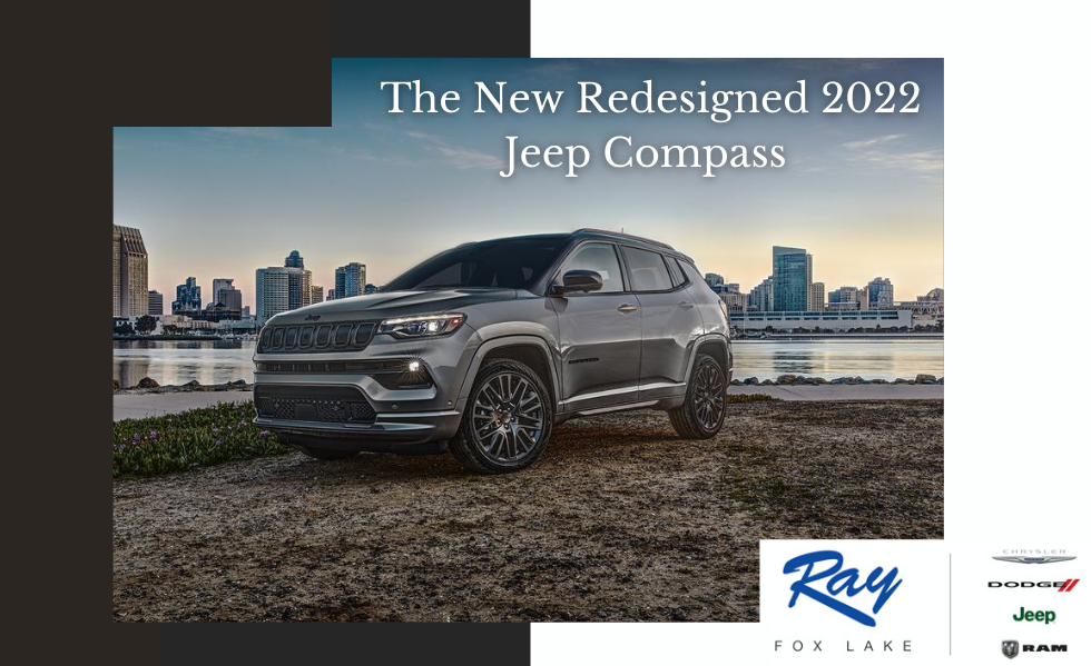 The New Redesigned 2022 Jeep Compass